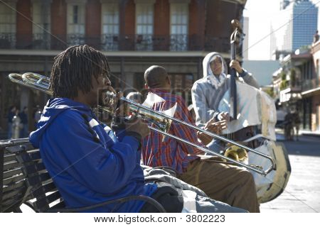 Banda de Jackson Square