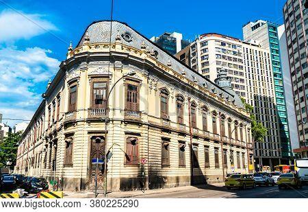 Architecture Of Central Rio De Janeiro In Brazil