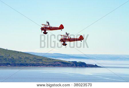 Pier Air Show in Weston-super-Mare Somerset