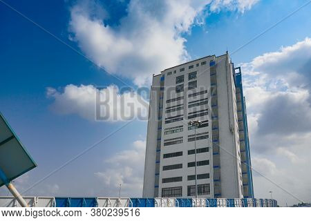 Howrah, West Bengal,india - May 23rd 2020 : Nabanna, Building In Howrah, Houses The State Secretaria