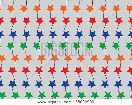 Seamless simple pattern with stars