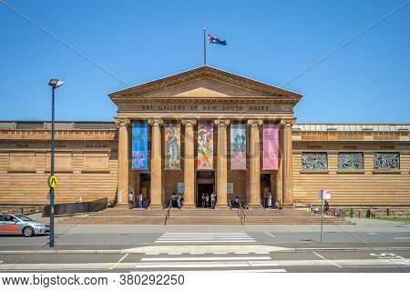 January 8, 2019: Art Gallery Of New South Wales,  The Most Important Public Gallery In Sydney, Austr