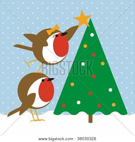 Robins Christmas Tree