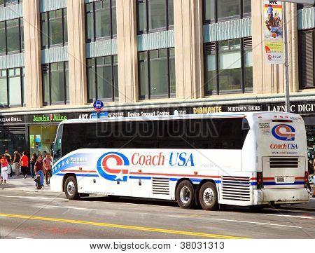 Coach USA Bus