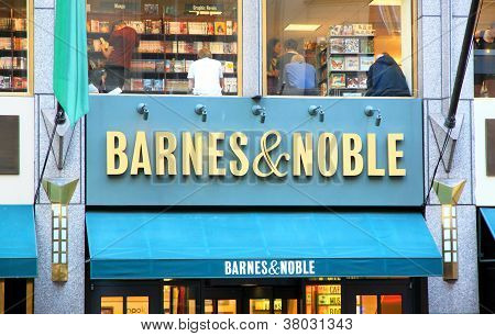 Barnes and Noble Sign