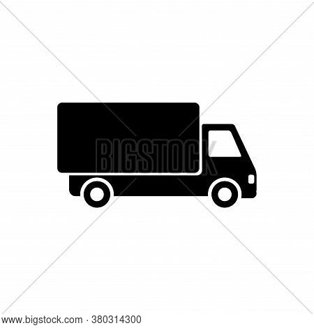 Truck Icon Vector. Delivery Truck Icon On White Background. Truck Icon Simple And Moderd. Delivery T