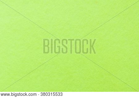 Texture Background Of Light Green Velvet Or Flannel Fabric