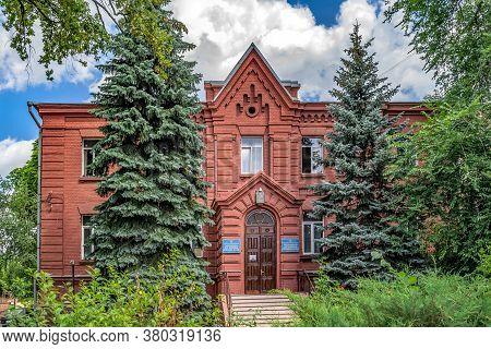Kharkiv, Ukraine - July 20, 2020: The Building Of The Kharkov Theological Seminary On The Territory