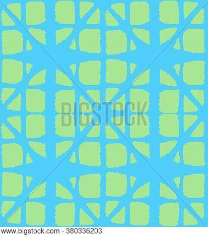 Japanese Tie Dye Seamless Pattern. Bohemian Geometric Asian Tie Dye Pattern. Glamour Kimono Textile.