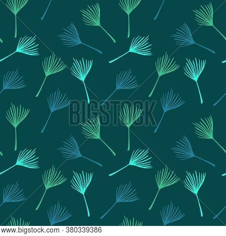 Funky Tropical Vector Seamless Pattern. Beautiful Male Shirt Female Dress Texture. Fine Summer Fashi