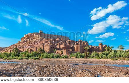 Ait Benhaddou, Traditional Berber Kasbah In Morocco