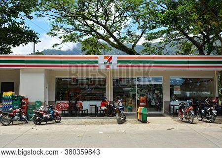 Aurora, Ph - April 21 - 7 Eleven Convenience Store Facade On April 21, 2019 In Dingalan, Aurora, Phi