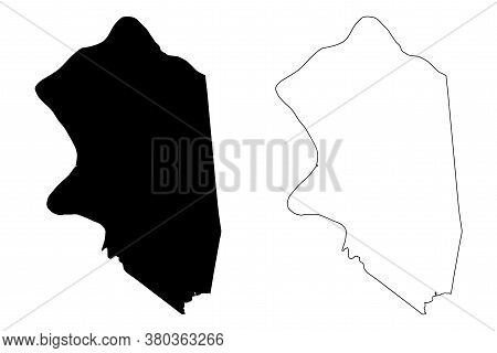 Boone County, Kentucky (u.s. County, United States Of America, Usa, U.s., Us) Map Vector Illustratio