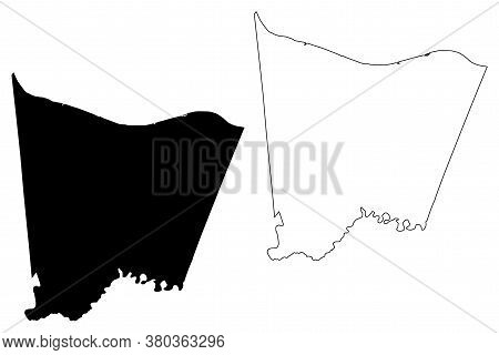 Bracken County, Kentucky (u.s. County, United States Of America, Usa, U.s., Us) Map Vector Illustrat