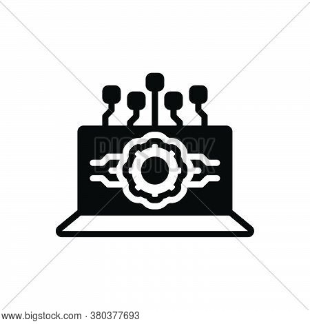 Black Solid Icon For Api-interface Api Interface Software Computing Interface Application Browser Co