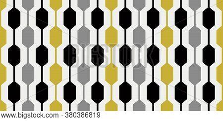 1960s Geometric Pattern | Stylish Mid Mod Design | Mid Century Style | Seamless 60s Retro Print