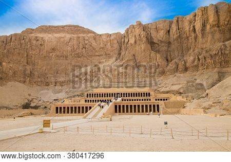 Temple of Hatshepsut, Luxor. The Mortuary Temple of Hatshepsut, also known as the Djeser-Djeseru is a mortuary temple of Ancient Egypt