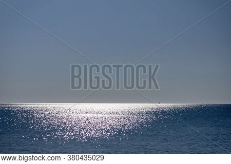 Sun Reflection On The Surface Of Lake Michigan