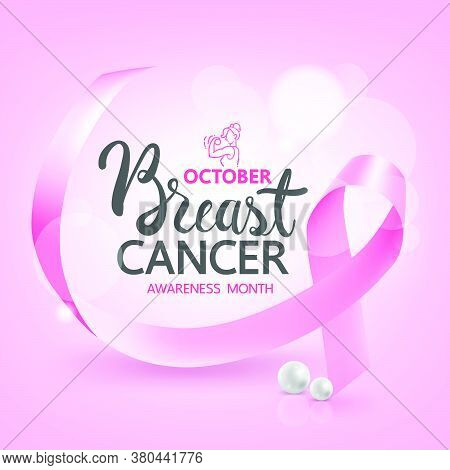 Breast Cancer Awareness Banners And Ribbons,breast Cancer Awareness For New Social Media Template