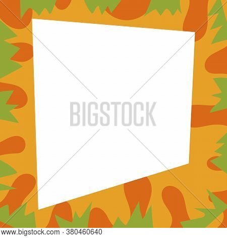 Vector Colored Intersecting Spots And Bizarre Shapes. Design Backgrounds For Social Media. Abstract