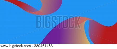 Abstract Wave Vector Backgroud For Print And Web.