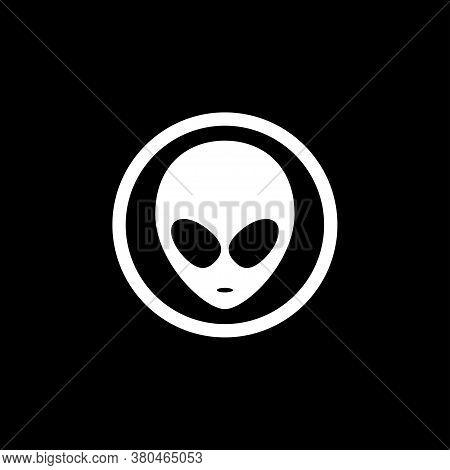 Ufo Alien Saucer - Unidentified Flying Object Line Art Vector Icon