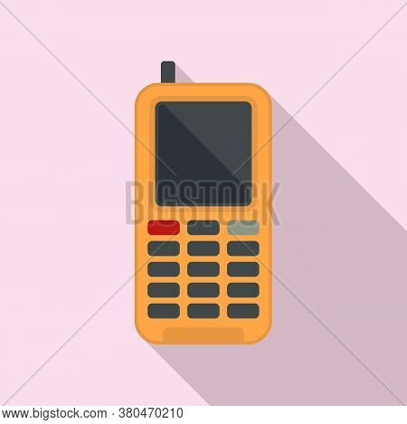 Survival Phone Icon. Flat Illustration Of Survival Phone Vector Icon For Web Design