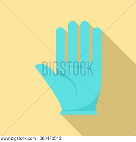 Survival Glove Icon. Flat Illustration Of Survival Glove Vector Icon For Web Design