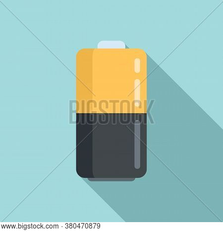 Survival Battery Icon. Flat Illustration Of Survival Battery Vector Icon For Web Design