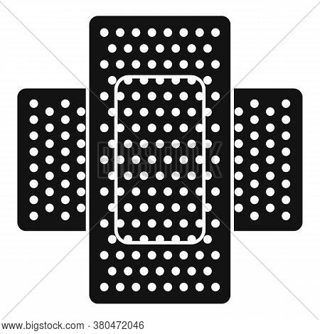 Survival Skin Plaster Icon. Simple Illustration Of Survival Skin Plaster Vector Icon For Web Design