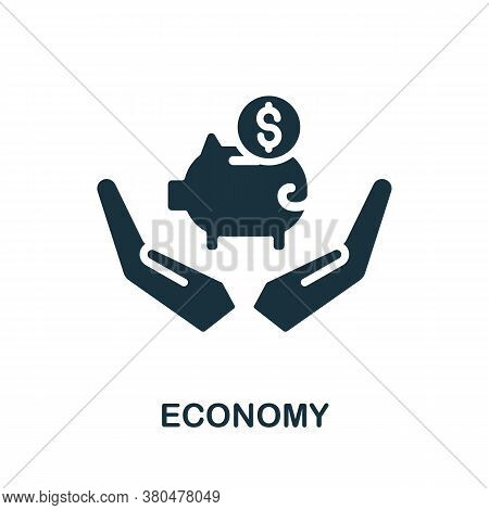 Economy Icon. Simple Element From Investment Collection. Creative Economy Icon For Web Design, Templ