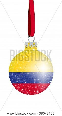 Christmas ball - Colombia