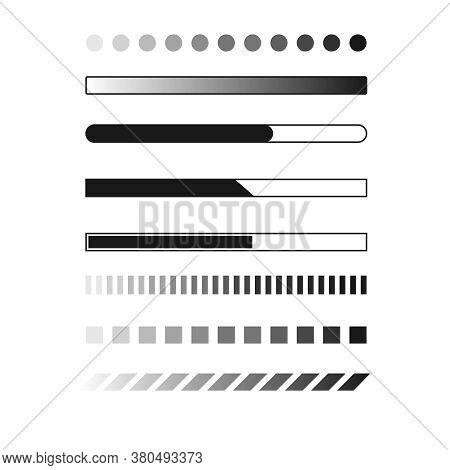 Web Progress Loader Interface Load Icon Upload Sign Digital Symbol Download Element Network Shape Ve