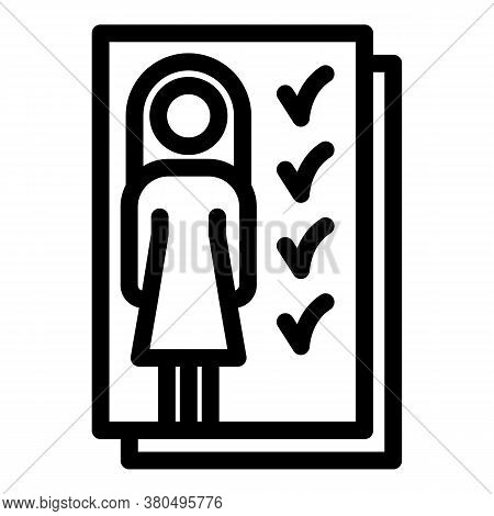 Empowerment Icon. Outline Empowerment Vector Icon For Web Design Isolated On White Background