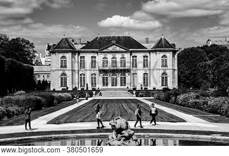 In The Gardens Of The Rodin Musem, Paris, France