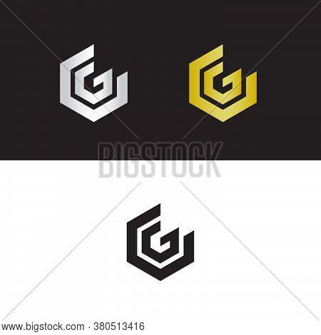 Letter V And Letter G Logo Design, Cg Logo