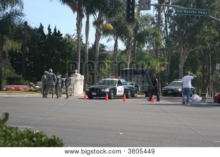National Guard And Police