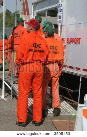 Prisoners At Command Center