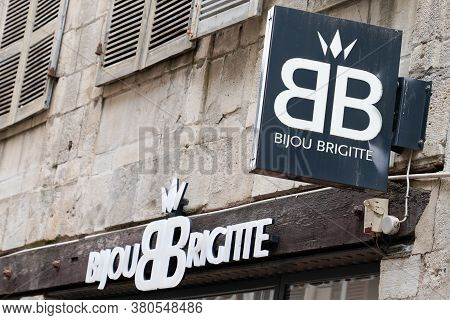 Bordeaux , Aquitaine / France - 08 04 2020 : Bb Bijou Brigitte Sign Text And Logo For Jewel Brand Of
