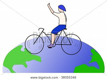 Travel with bicycle