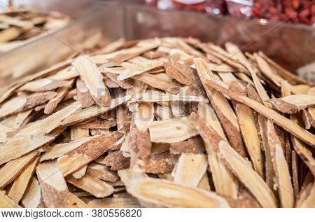 group stacks of traditional Chinese medicine, Astragali Radix