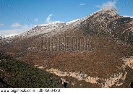 Mondoto Peak, Plana Basa, Sercue Village And Viandico Ravine.