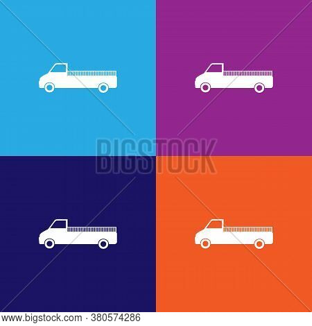 Lorry Icon. Element Of Car Type Icon. Premium Quality Graphic Design Icon. Signs And Symbols Collect