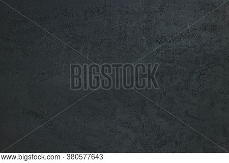 Dark Grunge Textured Background. Dark Grey Black Slate Stone Abstract Background Or Texture.