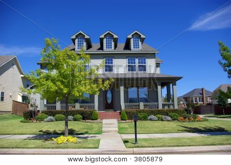 Victorian Style American Home