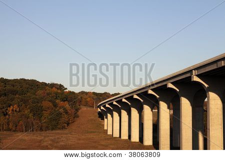 Highway 80 Going Above Cuyahoga River