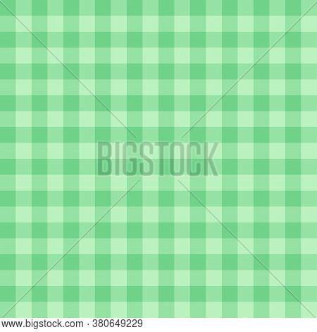 Green Seamless Print For Tablecloths, Textiles, Fabric, Home Decor, Scrapbooking. Cozy Decoration Fo