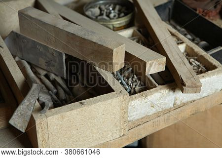 Photo of Tool and Fastener Boxes