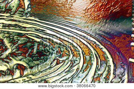 Digital Abstract Art - Volcanic Emotions