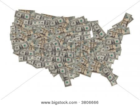 Us Dollar Map